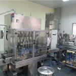 Máquina de enchimento automática de óleo de motor de 6 cabeças