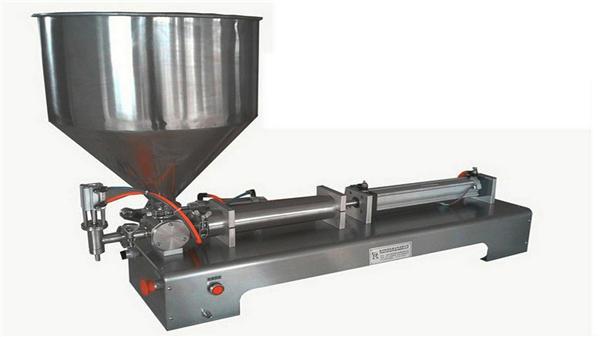 Máquina de enchimento vertical semi automática da única cabeça da pasta