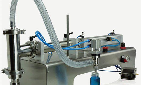 Novo design de máquina de enchimento de pistão semiautomático de alta qualidade