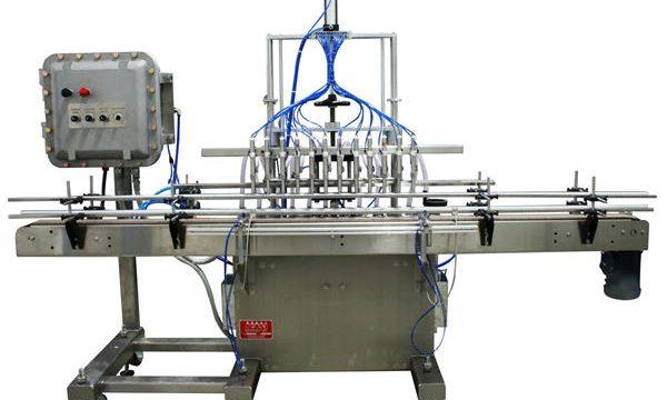 Máquina de enchimento líquida 50ml-1L do pistão automático