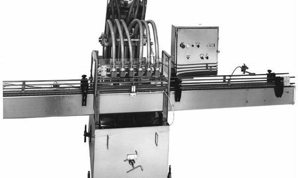 Máquina de enchimento de óleo vegetal de pistão controlado por PLC