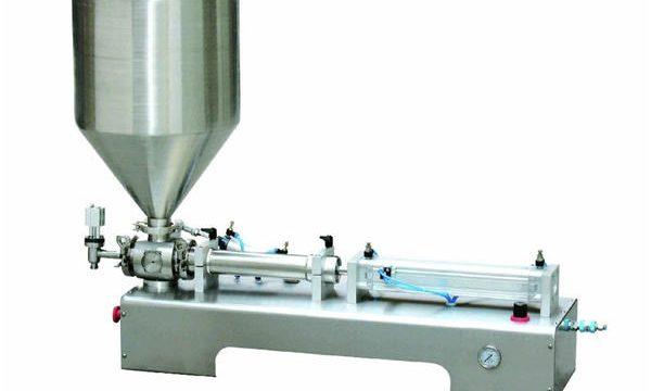 Pasta semiautomática da loção da calamina / máquina de engarrafamento líquida do pistão